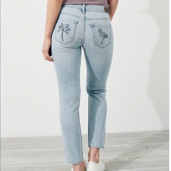 9747a97fb2dd9 Vintage Stretch Low-Rise Crop Super Skinny Jeans. NWT. Hollister